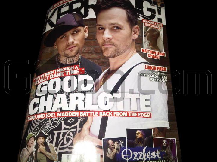 Good Charlotte dans Kerrang (Octobre 2010)