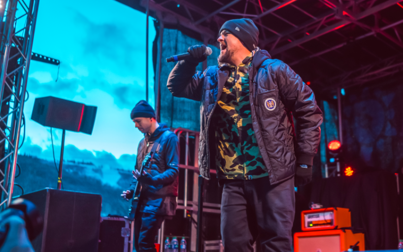 Joel Madden Team USA WinterFest Park City